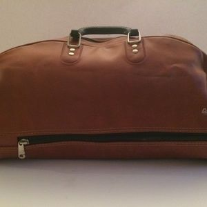 Vintage Old School COOPER Gym Bag Brown
